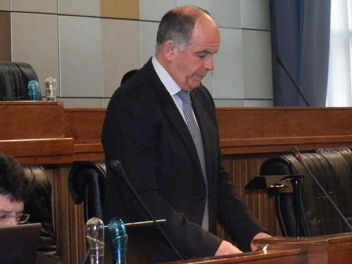 Il Presidente della Giunta, Augusto Rollandin