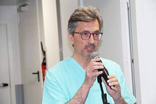 Il dottor Roberto Barmasse
