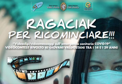"""Le concours """"Ragaciak...pour recommencer!"""" sur le COVID19"""