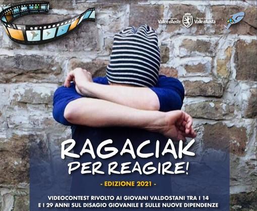 'Ragaciak… per reagire!' contro il bullismo un videocontest per i giovani valdostani