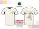 La t-shirt dell''Association Amis Batailles de Reines contro il coronavirus
