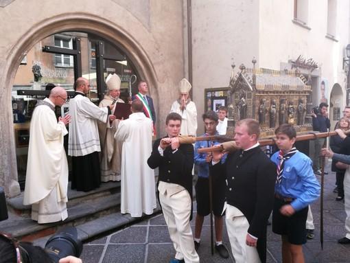 Aostani in festa celebrano il patrono San Grato
