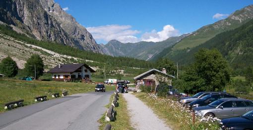 La via di accesso alla Val Ferret