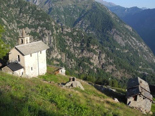 MONTAGNA VDA: Santuario di Retempioz e col Pousseuil (Pontboset)