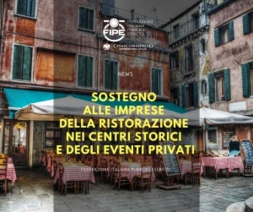 Sostegno alle imprese della ristorazione nei centri storici e degli eventi privati