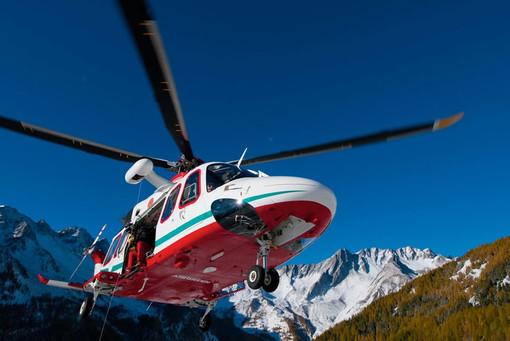 Tratti in salvo un alpinista sull'Indren ed un escursionista a Staffal