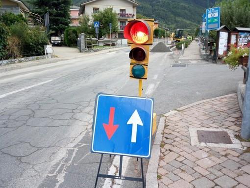 Modifiche alla circolazione lungo la strada regionale di Cerellaz