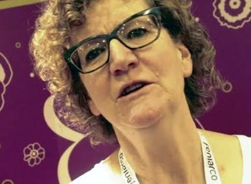 La prof. Luigina Stevenin