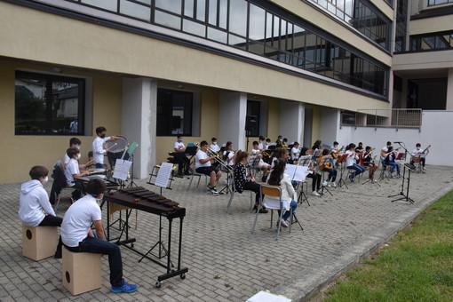 Momento musicale alla cerimonia di inaugurazione