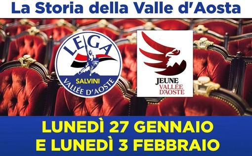 La Lega e la Jeune Vallée d'Aoste; due serate sulla storia della Valle d'Aosta