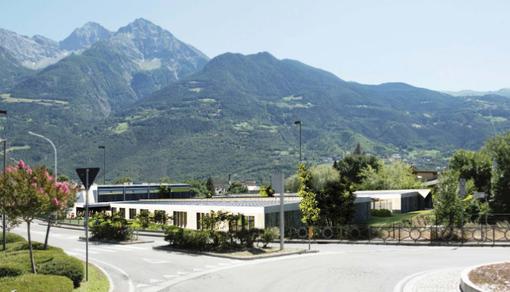 Liceo Bérard di Aosta in prefabbricati modulari in via Chabod