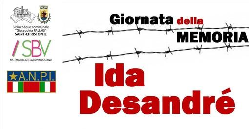 Saint-Christophe: In memoria dell'Olocausto e di Ida Desandré