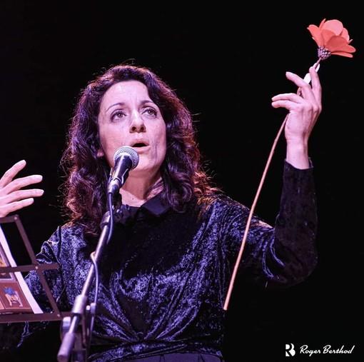La cantante Silvana Bruno partecipa alla serata