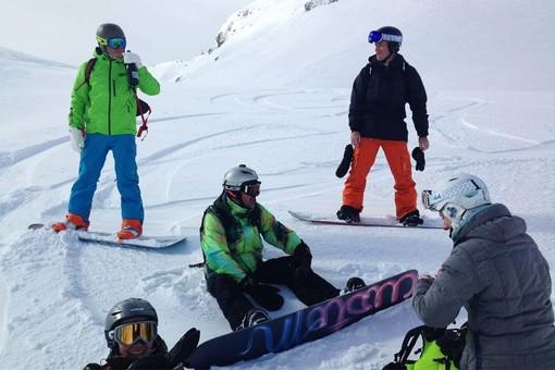 Fracture de fémur pour une snowboardiste valdotaine en Val d'Isère