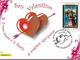 A San Valentino nell'ufficio postale  di Aosta Ribitel le cartoline per gli innamorati