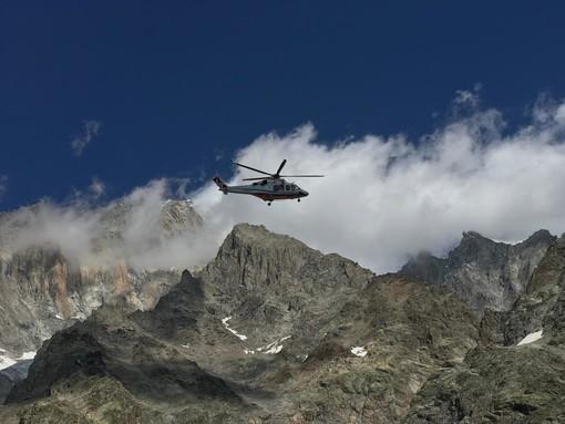 Un ferragosto di gran lavoro per il Soccorso Alpino Valdostano