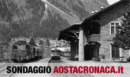 La ferrovia fino a Courmayeur non entusiasma e c'è chi pensa alla Aosta-Martigny