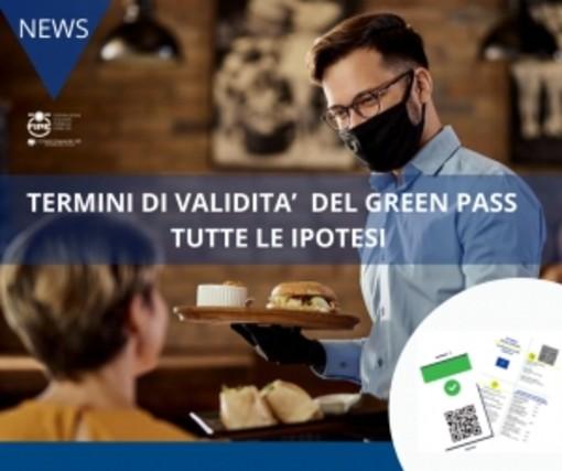 TERMINI DI VALIDITA' DEL GREEN PASS – TUTTE LE IPOTESI