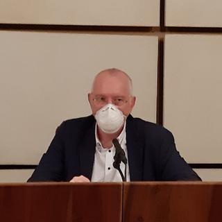 Il Presidente della Giunta, Renzo Testolin