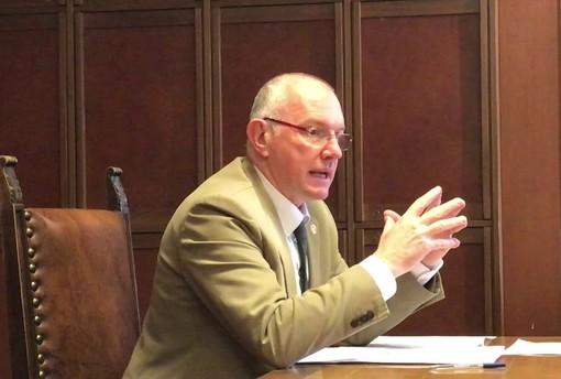 Renzo Testolin, presidente Giunta