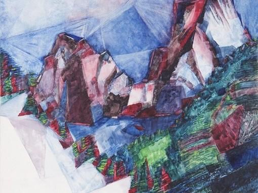 La montagne à travers les yeux de Giovanni Testori