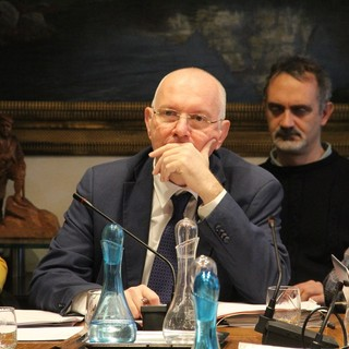 Renzo Testolin, presidente della Regione e Assessore all'Agricoltura