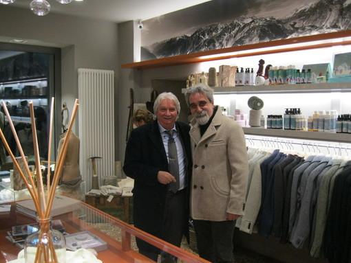 Il dottor Giancarlo Salomoni e il maestro Beppe Vessicchio