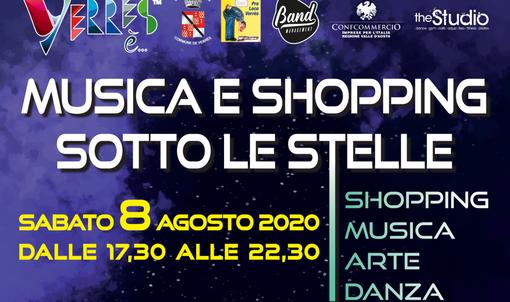Verres. Musica e shopping 'sotto le stelle' sabato 8 agosto