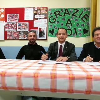 Da sn Carla Visentin, Marco Togni, Luca Girasole e Mauro Baccega