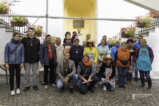 Un gruppo di volontari già al lavoro per l'ottava edizione di Dame Citrouille